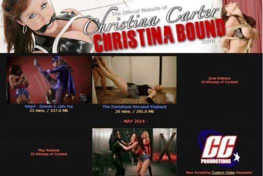 ChristinaBound - SiteRip