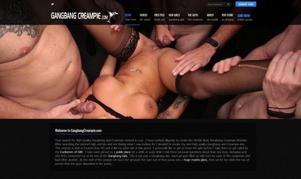 GangbangCreampie - SiteRip (Updated Mar 2018)