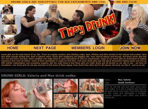 TheyDrunk - SiteRip