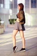Ariadna Majewska - social media thread 67845852_ari_maj-bomberka-khaki-jacket-crop-top