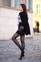 Ariadna Majewska - social media thread 67845865_ari_maj-leather-skirt-black-nylons-wolford-neon