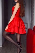 Ariadna Majewska - social media thread 67845886_ari_majczerwona-sukienka-rajstopy-szpilki