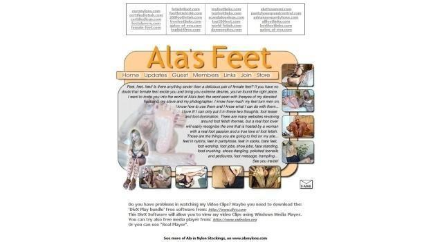 AlasFeet - SiteRip