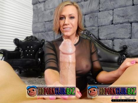 TsPov.com – Nikki Jade Taylor – Super Busty Beauty Takes The Cock In Both Holes [FullHD 1080p]