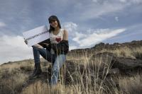 Victoria Justice - Petroglyph National Monument in Albuquerque, New Mexico 4/19/18