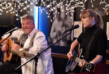 Taylor Swift - Performance at the Blue bird Cafe in Nashville 03/31/18