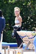 Bella Hadid & Hailey Baldwin - Working out together in Miami 4/29/18