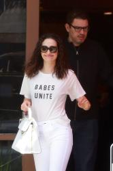 Emmy Rossum - Out for lunch in Beverly Hills 4/29/18