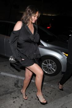 Chrissy Teigen at Craig's in West Hollywood 2
