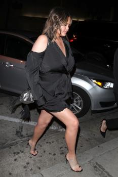 Chrissy Teigen at Craig's in West Hollywood 3