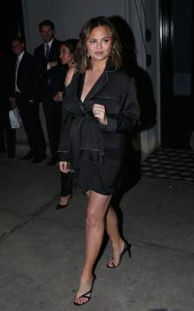 Chrissy Teigen at Craig's in West Hollywood 10