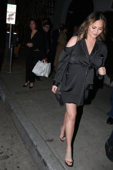 Chrissy Teigen at Craig's in West Hollywood 13