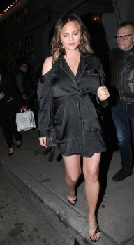Chrissy Teigen at Craig's in West Hollywood 14