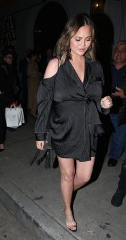 Chrissy Teigen at Craig's in West Hollywood 15