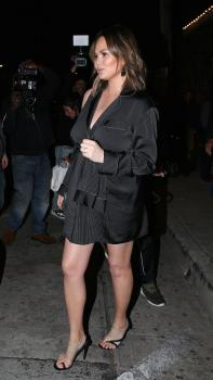 Chrissy Teigen at Craig's in West Hollywood 19