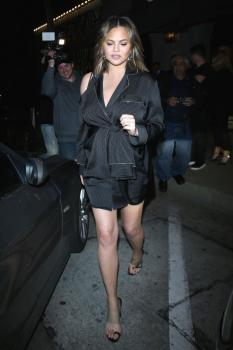 Chrissy Teigen at Craig's in West Hollywood 26