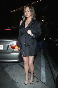 Chrissy Teigen at Craig's in West Hollywood 27