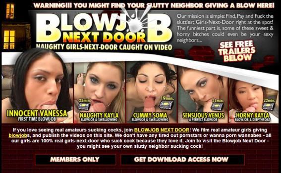 BlowjobNextDoor - SiteRip