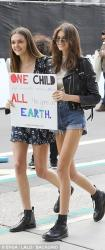 Kaia Gerber - 'March For Our Lives' Rally in LA 3/24/18